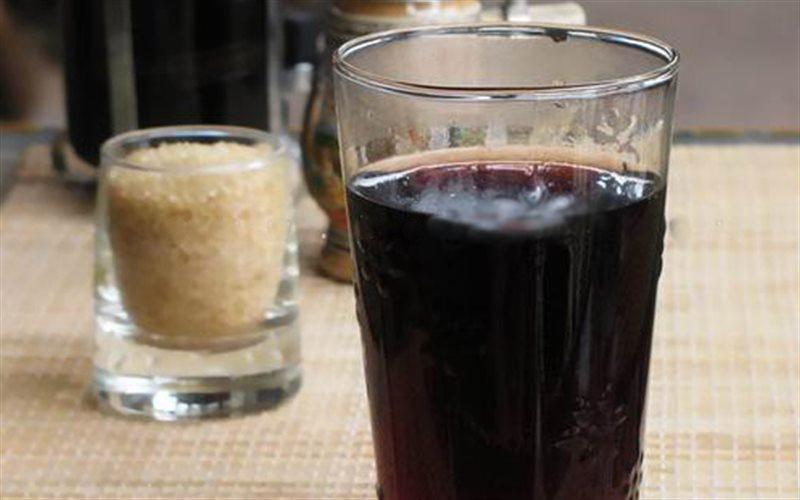 Nước đâu đen Giải rượu bằng một số loại nước